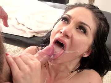 Lea Lexis gets anal dicking from Toni Ribas in explicit missionary position