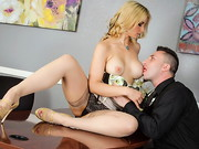 Ike really needs a loan, but there's not much his banker, Sarah Vandella, can do to help ...