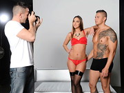 Though both Zach and Amirah are professional underwear models, even they are not free from ...