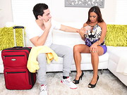 Peter was on a house call for a personal training session. Juilanna needy some attention and ...
