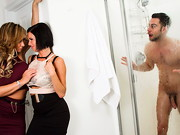 Eva Notty is the Den Mom for the football team and she invites her friend, Veronica Avluv, to ...