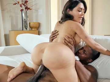 Cheating wife Lela Star enjoys big black boner of her husband's friend