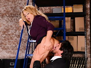 Federal agent Tommy Gunn is looking for evidence of financial wrongdoing at the office of ...