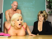 Superintendent Sins is visiting one of the schools in his district to see if its notoriously ...