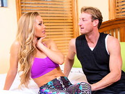 Nicole Aniston is staying over at her friend's place. Her friend can get a little jealous ...