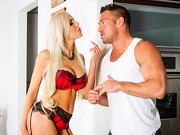 Johnny is over giving Nina Elle a hand with some broken appliances. Her appliances work fine, ...