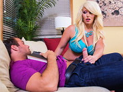 Alura Jenson finds her son's friend hanging out at her place while he waits for his ...
