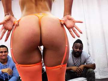 Latina stripper Kelsi Monroe goes too far trying to please her clients