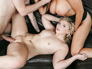 Married couple Danny D and Romi Rain D are renting a room to local college student Melissa ...
