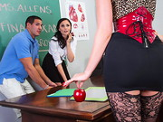 Ariana Marie and Tony are sneaking around school after dark trying to find answers to their ...